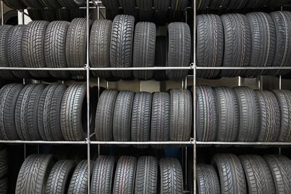 Reifenlager für Sommer- und Winterreifen