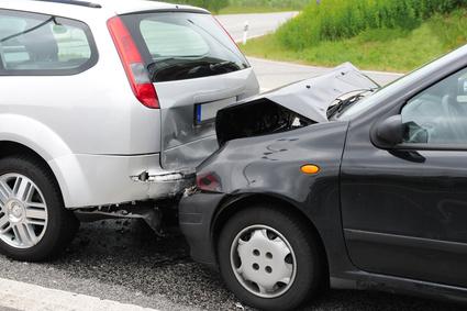 Unfallschaden am Auto